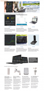 Amazon Partner product page layout