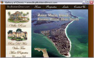 Home Builder custom web design and development. 2004?